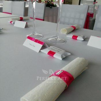 dodatki na stół weselny